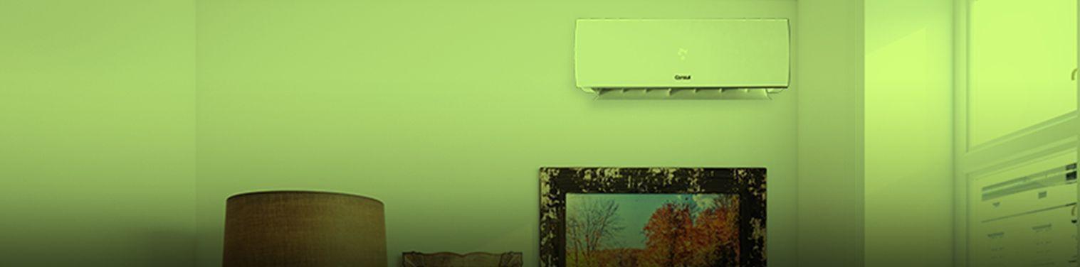 Banner de ar-condicionado mais silencioso