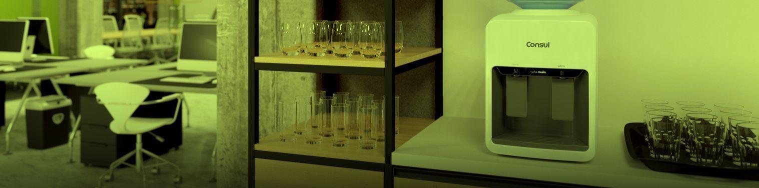 Bebedouro Consul em escritório