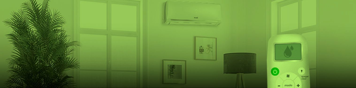 Função dry do ar-condicionado: