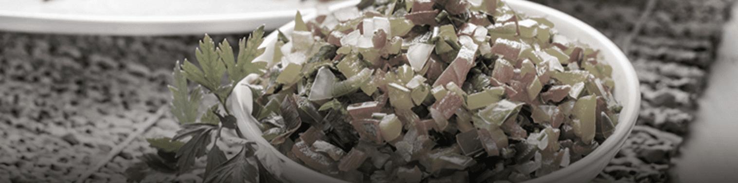 como fazer vinagrete