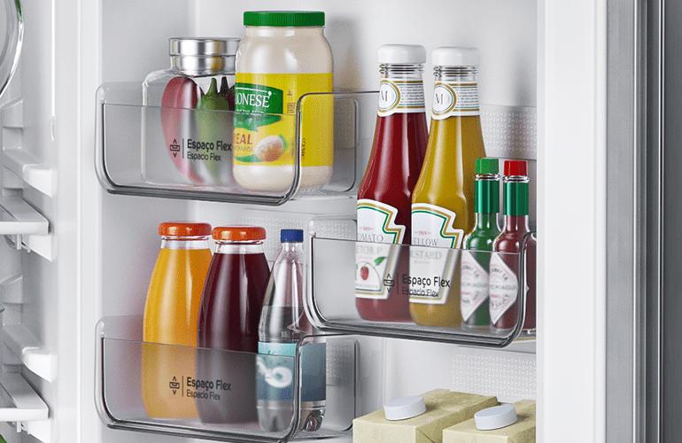 geladeira consul organizada