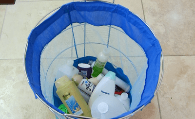 products gathered during a heat treatment