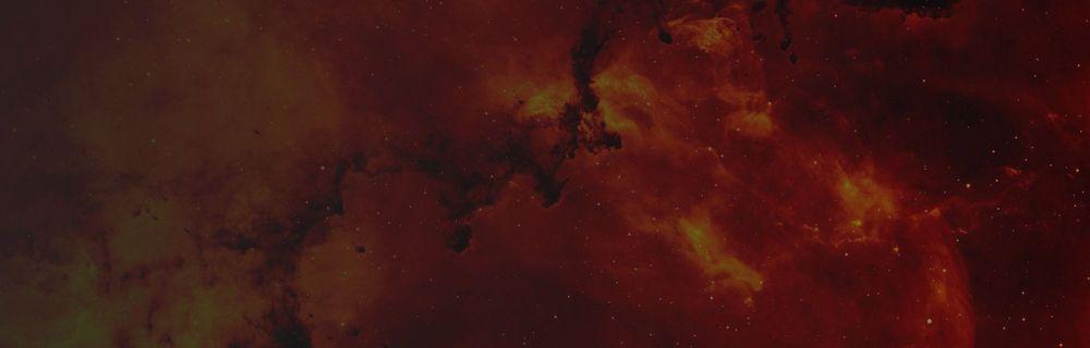 red and orange heat image