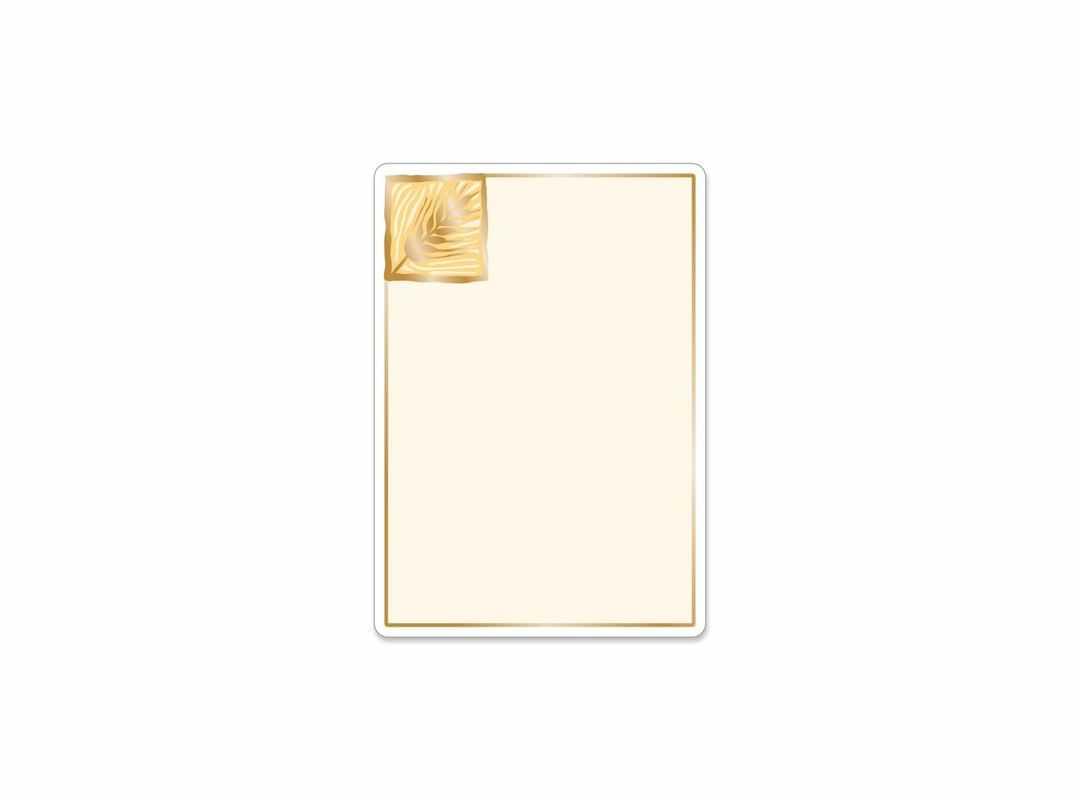 BAK005 - Bakers Gold Large 9 p/s Label