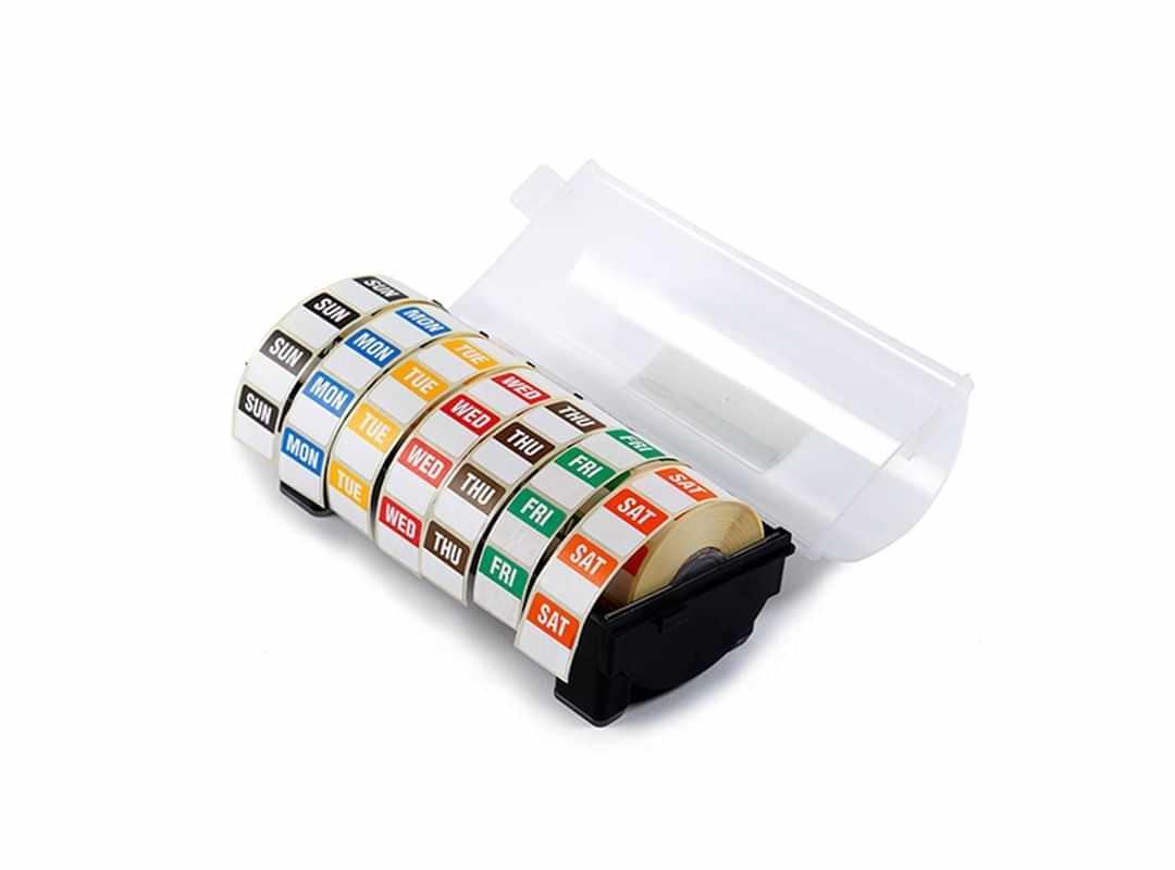 DLD001 - 25mm Day Label Kit