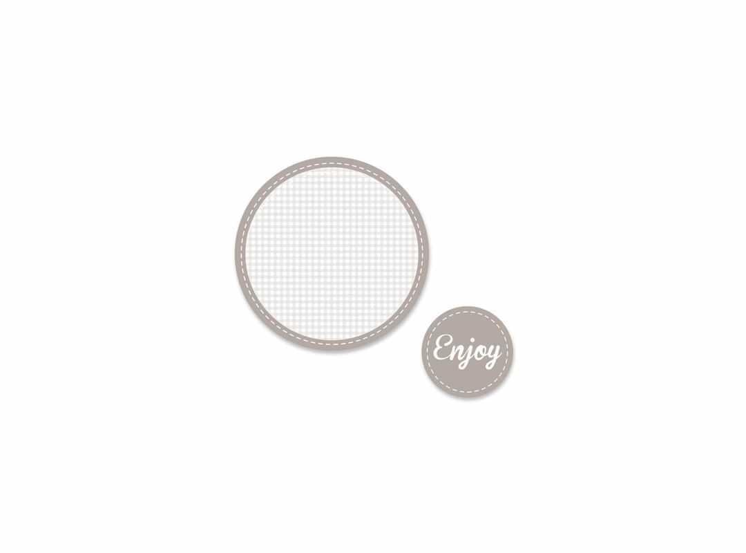 ENJ003 - Enjoy Grey 15 p/s Label
