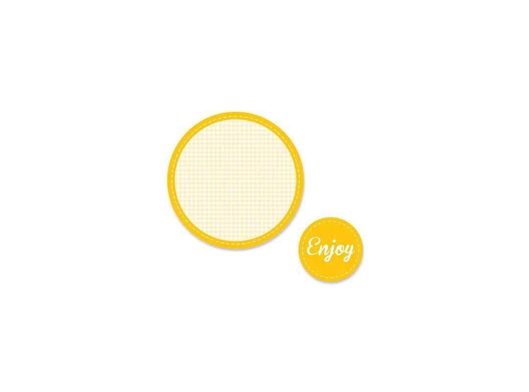 ENJ004 - Enjoy Yellow 15 p/s Label
