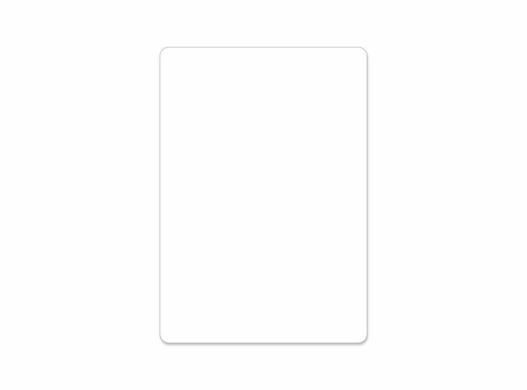 PLA001 - Plain 16 p/s Label