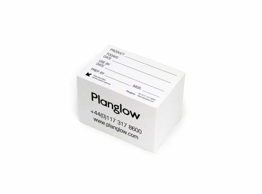 8001 - Product Label Block (500 labels)