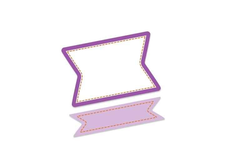 BAN001 - Purple Banner 12 p/s Label