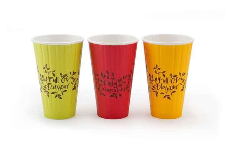 BOT003 - Botanical 16oz Bio Cup