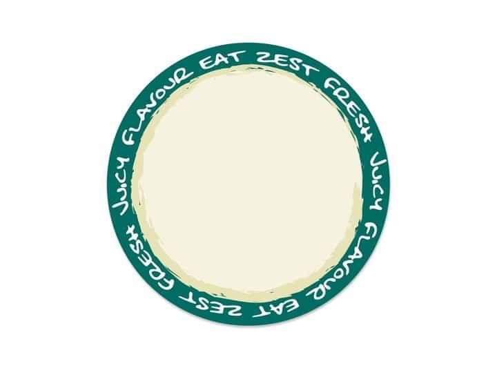 GDE001 - Green Deli 12 p/s Label