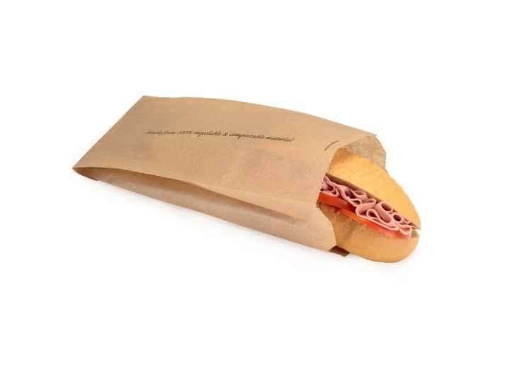 NAT035 - Natural Mini Baguette Bag