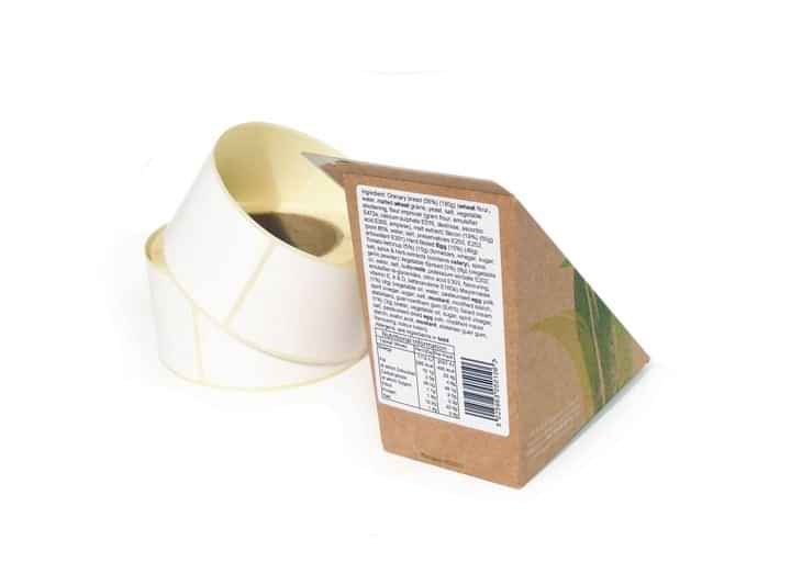 Plain Nutri Roll Label