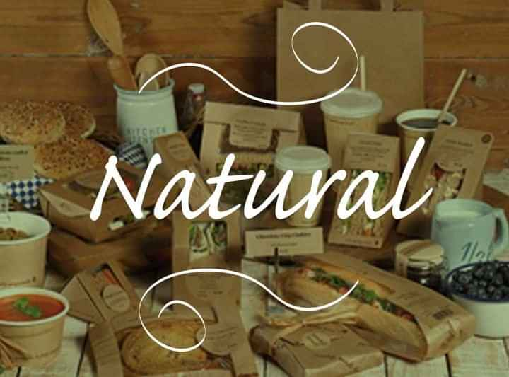 Natural Packaging and Labelling