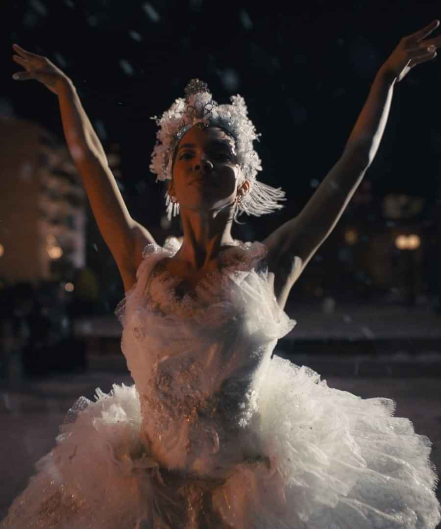 TAÏS the ballerina for Amazon's Christmas Advert