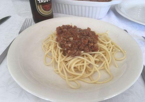 ספגטי בלונז