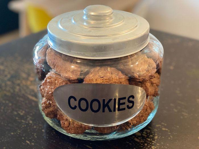 עוגיות גרנולה-שיבולת שועל