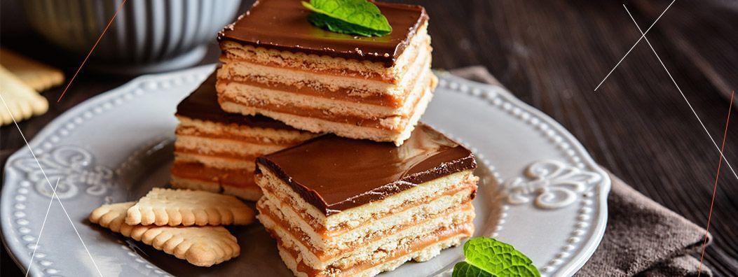Torta de Bolacha: a Receita pelo Chef Willian Peters