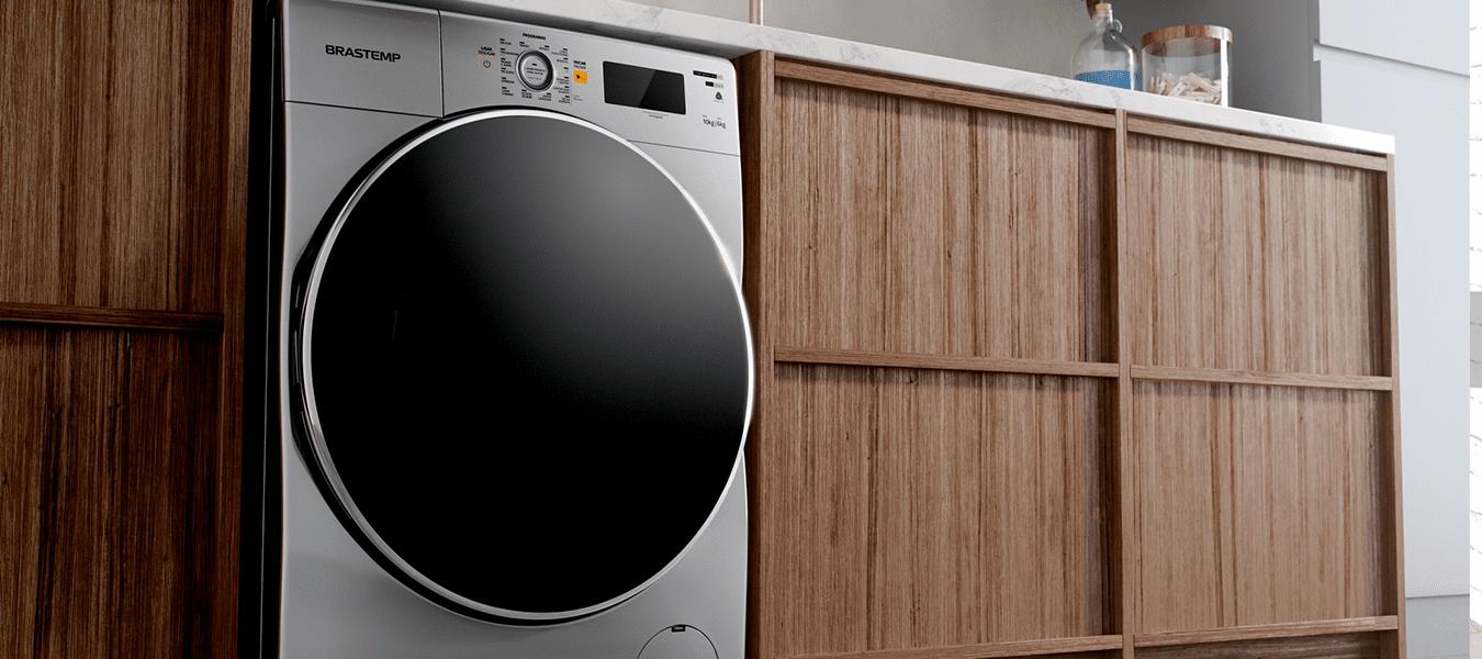 Área de serviço planejada: dicas para organizar a sua lavanderia
