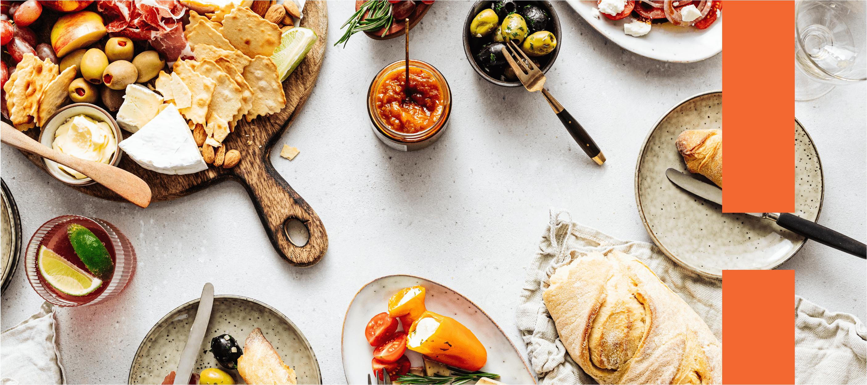 Do antepasto à sobremesa: ideias de menus completos para uma refeição especial