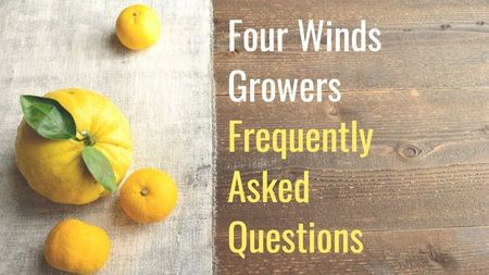 Customer Support FAQ's-Four Winds Growing