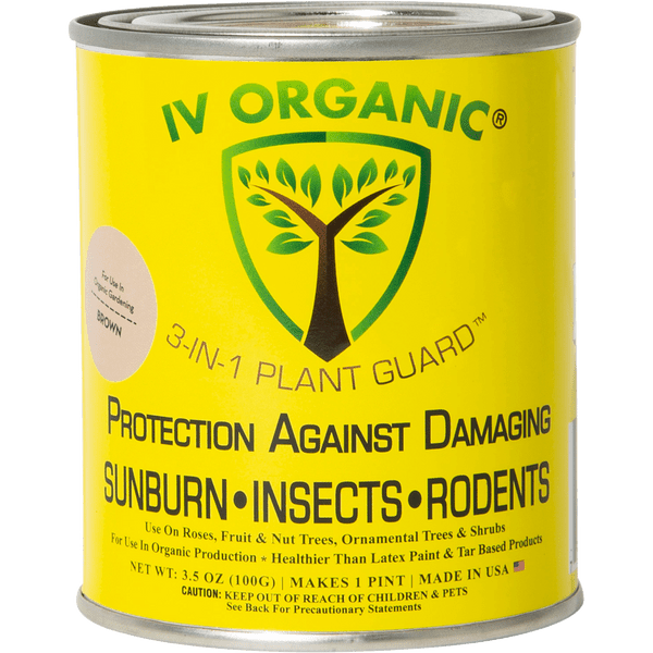 IV ORGANIC 3-in-1 Plant Guard (BROWN)