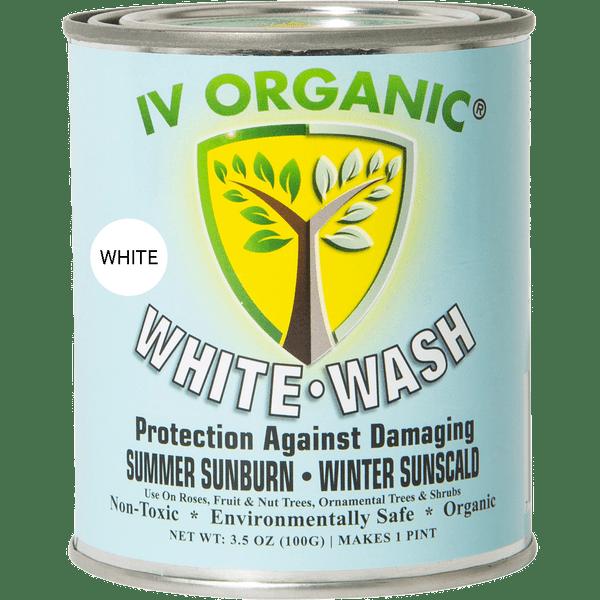 IV ORGANIC White Wash Plant Guard (WHITE)