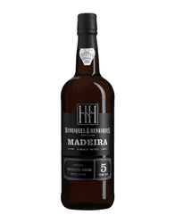 "Henriques & Henriques ""Finest Medium Rich Madeira Wine"" 5yrs"