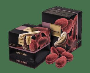 Σοκολατάκια ChocoMe Ροζ σοκολάτα-αμύγδαλα 120gr