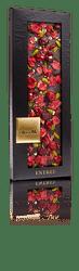Σοκολάτα ChocoMe Μαύρη σοκολάτα Valrhona 66% με βρώσιμο χρυσό 110gr
