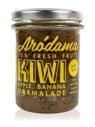 Arodama μαρμελάδα ακτινίδιο-μήλο-μπανάνα 220γρ