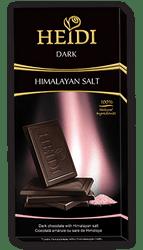 Σοκολάτα HEIDI DARK HIMALAYAN SALT 80gr