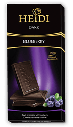 Σοκολάτα HEIDI DARK BLUEBERRY 80gr