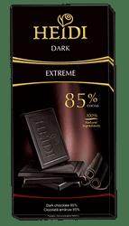 Σοκολάτα HEIDI DARK 85% cacao 80gr