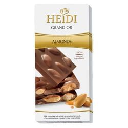 Σοκολάτα HEIDI MILK ALMONDS 100gr