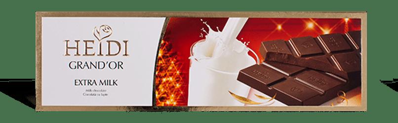 Σοκολάτα HEIDI EXTRA MILK 250gr