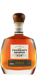 CHAIRMAN'S RESERVE RUM 1931