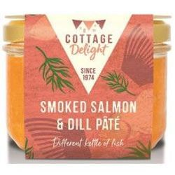 Smoked Salmon Pate with Dill - Καπνιστός Σολομός με Άνιθο Πατέ 190gr
