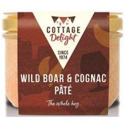 Wild Boar with Cognac Pate - Αγριόχοιρος με Κονιάκ Πατέ 190gr