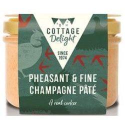 Pheasant & Champagne Pate - Φασιανός με Σαμπάνια Πατέ 190gr