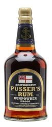 RUM PUSSER'S NAVY GUNPOWDER (BLACK LABEL)