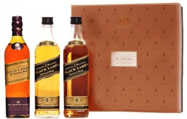 Johnnie Walker The Collection 2Black/1Gold 0.2L