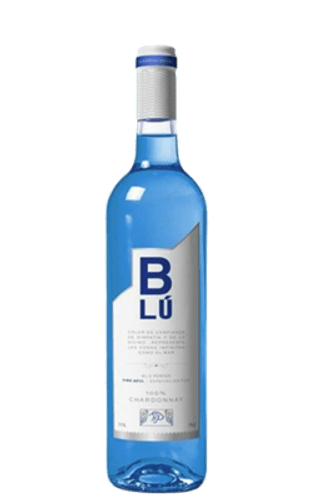 Blu Wine (μπλέ κρασί) Chardonnay 100%