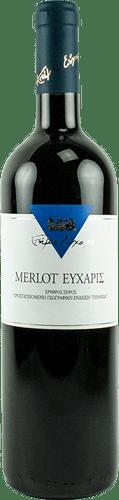 ΕΥΧΑΡΙΣ MERLOT 2003 Υπογεγραμμένη