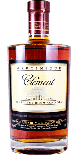 CLEMENT RHUM AGED 10 YEARS