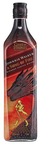 A Song of Fire by Johnnie Walker Limited Edition