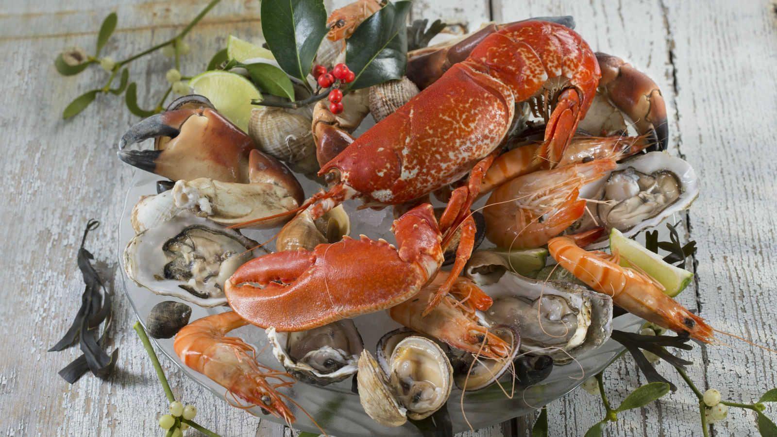 Com carnes delicadas, os frutos do mar são saudáveis e ricos em vitaminas