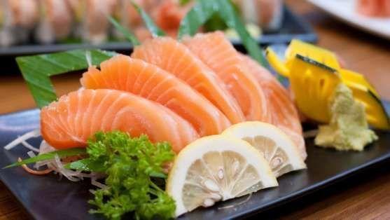 cortar sashimi