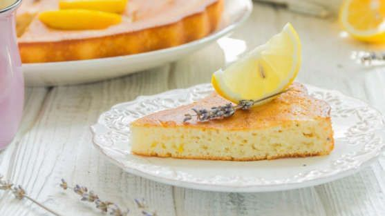 Torta de limão com baunilha